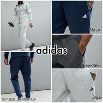 adidas Tapered Pants Plain Cotton Tapered Pants