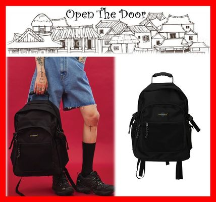 Unisex Street Style A4 Backpacks