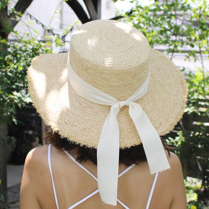 Fringes Straw Boaters Straw Hats