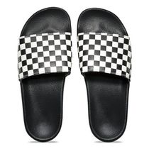 VANS Other Check Patterns Unisex Street Style Shower Shoes