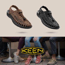 KEEN Unisex Street Style Plain Leather Sandals