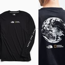 THE NORTH FACE Collaboration Long Sleeves Cotton Long Sleeve T-Shirts