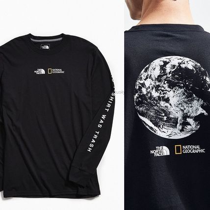 THE NORTH FACE Long Sleeve Collaboration Long Sleeves Cotton Long Sleeve T-Shirts