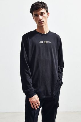 THE NORTH FACE Long Sleeve Collaboration Long Sleeves Cotton Long Sleeve T-Shirts 2