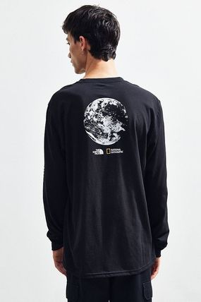 THE NORTH FACE Long Sleeve Collaboration Long Sleeves Cotton Long Sleeve T-Shirts 3