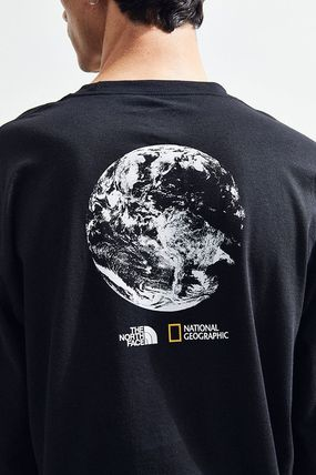 THE NORTH FACE Long Sleeve Collaboration Long Sleeves Cotton Long Sleeve T-Shirts 4