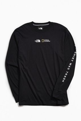 THE NORTH FACE Long Sleeve Collaboration Long Sleeves Cotton Long Sleeve T-Shirts 5