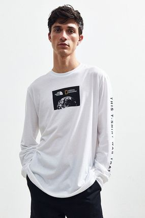 THE NORTH FACE Long Sleeve Collaboration Long Sleeves Cotton Long Sleeve T-Shirts 7
