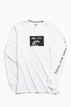 THE NORTH FACE Long Sleeve Collaboration Long Sleeves Cotton Long Sleeve T-Shirts 10