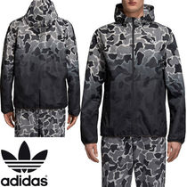 adidas Camouflage Street Style Tie-dye Coach Jackets