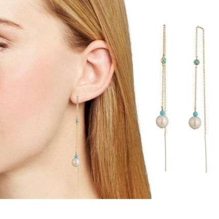 Costume Jewelry Brass Earrings & Piercings