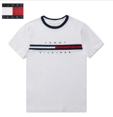 Tommy Hilfiger More T-Shirts Unisex Street Style T-Shirts 2