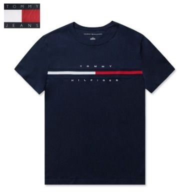 Tommy Hilfiger More T-Shirts Unisex Street Style T-Shirts 4