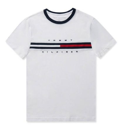 Tommy Hilfiger More T-Shirts Unisex Street Style T-Shirts 5
