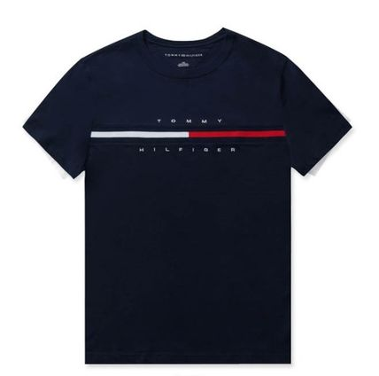 Tommy Hilfiger More T-Shirts Unisex Street Style T-Shirts 12