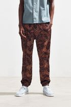 Urban Outfitters Printed Pants Paisley Street Style Patterned Pants