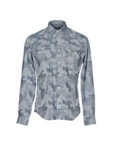 Hydrogen Camouflage Long Sleeves Cotton Shirts