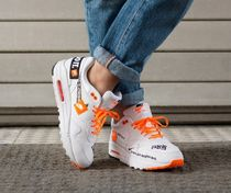 Nike AIR MAX 1 Casual Style Street Style Leather Low-Top Sneakers