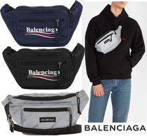 BALENCIAGA Nylon Hip Packs