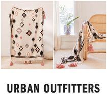 Urban Outfitters Tassel Ethnic Throws