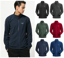 ARC'TERYX Long Sleeves Plain Khaki Tops