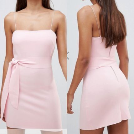 Short Tight Sleeveless Elegant Style Dresses
