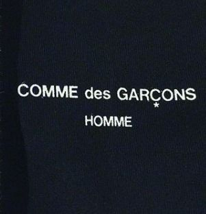 COMME des GARCONS More T-Shirts Unisex Street Style U-Neck Plain Cotton Short Sleeves 8