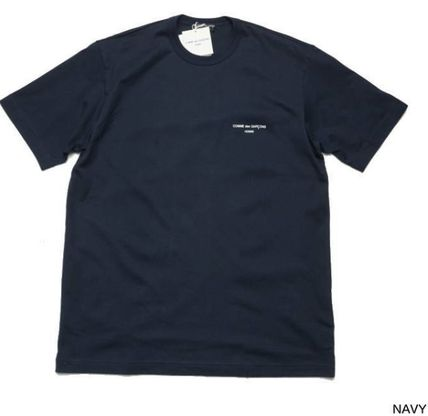 COMME des GARCONS More T-Shirts Unisex Street Style U-Neck Plain Cotton Short Sleeves 6