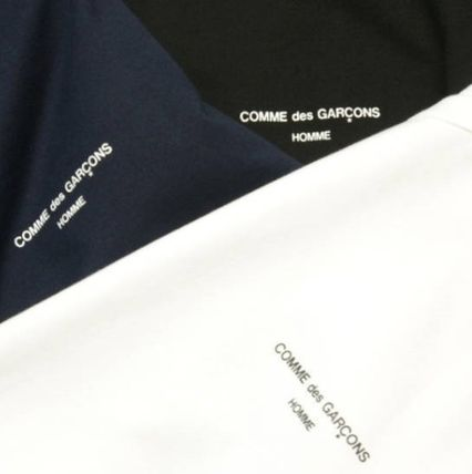 COMME des GARCONS More T-Shirts Unisex Street Style U-Neck Plain Cotton Short Sleeves 9