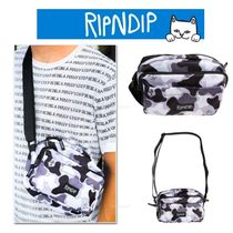 RIPNDIP Camouflage Unisex Nylon Street Style Other Animal Patterns