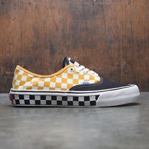 VANS AUTHENTIC Other Check Patterns Street Style Sneakers