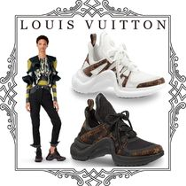 e8f1a387dd Louis Vuitton MONOGRAM 2018 SS Women's Black Sneakers Camouflage ...