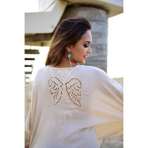 Angels by the Sea Hawaii Cropped Plain Shirts & Blouses