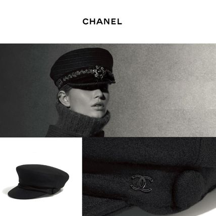CHANEL 2018 Cruise Beret   Huting by KinkinNY - BUYMA 717e49134dd