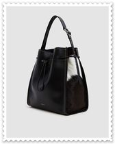 3.1 Phillip Lim Unisex Plain Leather Purses Elegant Style Totes