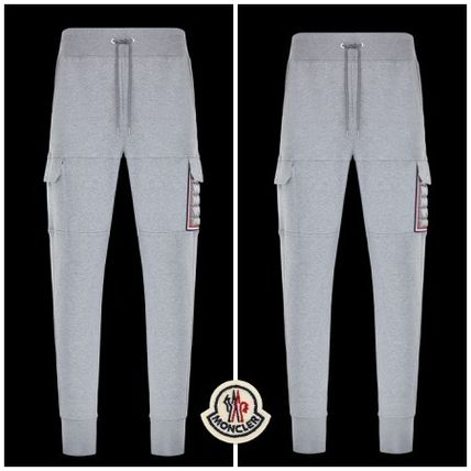 06039ea094c4 MONCLER Plain Cotton Joggers   Sweatpants (PANTALONI) by Mariepi - BUYMA