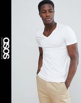 ASOS V-Neck Short Sleeves V-Neck T-Shirts