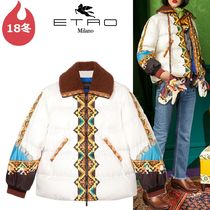 ETRO Short Other Animal Patterns Down Jackets