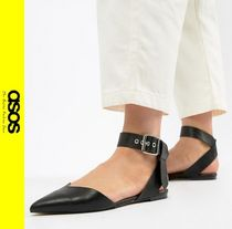 ASOS Casual Style Faux Fur Slip-On Shoes