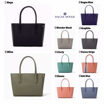 DAGNE DOVER Casual Style Canvas A4 2WAY Plain Totes