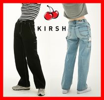 KIRSH Casual Style Street Style Cotton Jeans