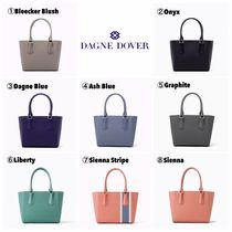 DAGNE DOVER Casual Style Canvas Plain Totes