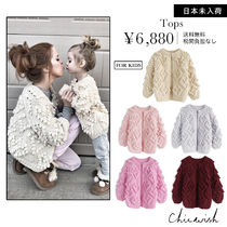 Chicwish Heart Long Sleeves Plain Cardigans
