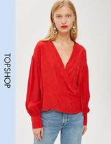 TOPSHOP Casual Style Long Sleeves Tops