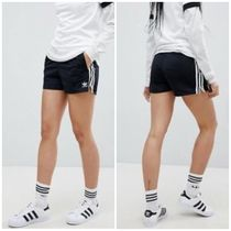 adidas Short Stripes Casual Style Street Style Plain Shorts