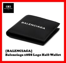 BALENCIAGA Street Style Leather Folding Wallets