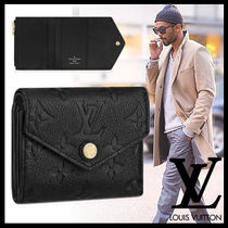 Louis Vuitton Monoglam Leather Folding Wallets