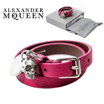 alexander mcqueen Casual Style Leather Bracelets