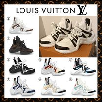 Louis Vuitton Unisex Leather Oversized Sneakers
