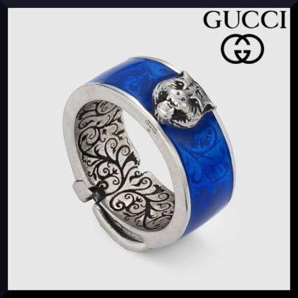 eb2c705f642 GUCCI 2018-19AW Unisex Other Animal Patterns Silver Rings by ...